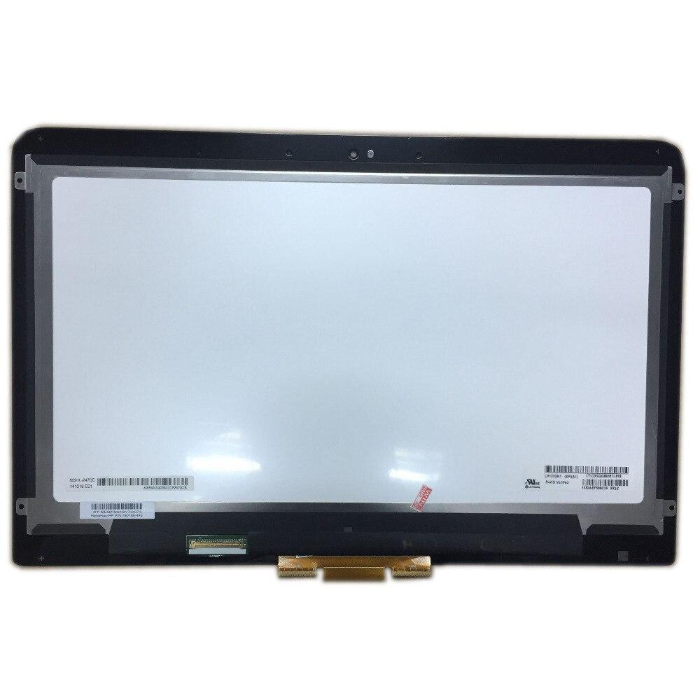 LALAWIN 13,3 pulgadas LP133QH1-SPA1 portátil montaje de pantalla LCD para HP Spectre X360 pantalla LCD pantalla digitalizador 2560*1440