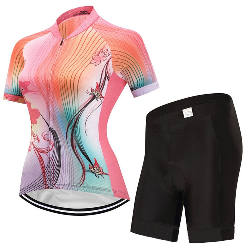 Cool ciclismo camisetas kits gato mariposa ciclismo jersey impresión ciclismo camiseta diseños personalizados