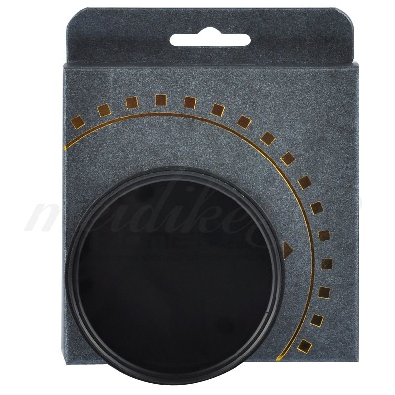 Respectivamente 49mm Variable filtro ND fader ND2 ND4 ND8 ND400 para Nikon Canon Hoya lente envío gratis