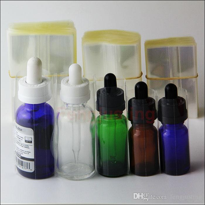 Термоусадочная пленка для E-liquid, термоусадочная пленка из ПВХ для бутылок 10 мл, 15 мл, 20 мл, 30 мл, термоусадочная трубка, термоусадочные уплотне...