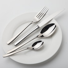 Service de vaisselle de Zone confortable   Zone confortable, vaisselle en acier inoxydable, couverts de luxe, Vintage qualité 24 pièces couteau fourchette à manger