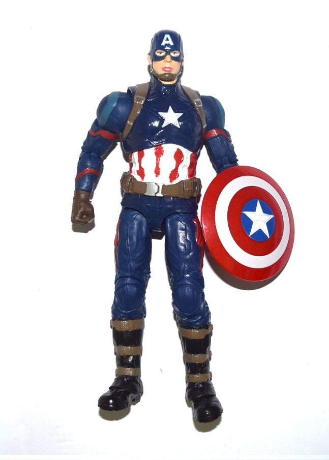 "Película Captian American 3 guerra Civil Steve Rogers 7 ""figura de acción suelta"