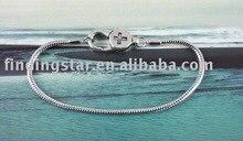 FREE SHIPPING 10PCS Medicine Cross Clasp european charm bracelet 16cm to 23cm #20132