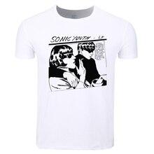 Asian Size Men Women Print Punk Rock band Sonic Youth Fashion T-shirt O-Neck Short Sleeve Summer Casual Tshirt Swag HCP4381