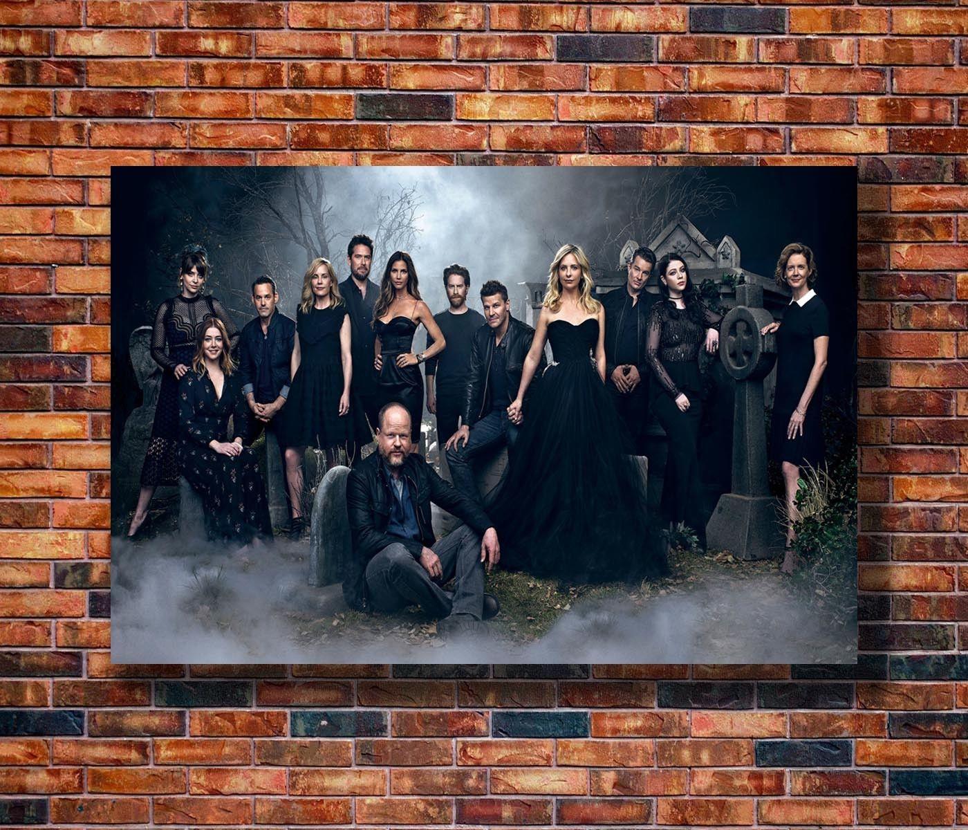 Q0322 pósteres e impresiones Reunion the Vampire Slayer reunión 2017 Serie de TV Play Póster Artístico de lienzo pintura decoración del hogar
