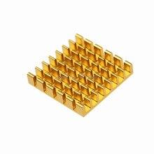 5 Pieces Lot 25x25x5mm Aluminum VGA Card RAM DDR Memory Cooler Cooling Heatsink Adhensive 3M Tape
