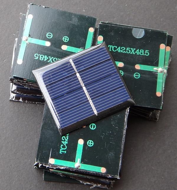 Policristalino do Painel Aplicações de Brinquedo Venda Lote Alta Qualidade Mini Solar 0.36 w 2 v Célula Wide Educação Kits Top 1000 Pçs –