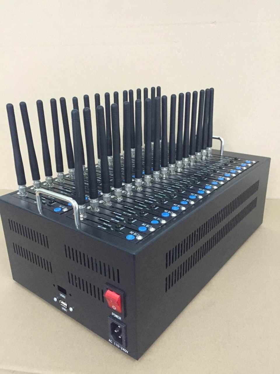 GSM Q2303 Wavecom piscina modem porta 32, 32 portas gsm sms modem, enviar mms sms em massa piscina modem sms