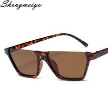 2021 New Fashion Semi Rimless Square Sunglasses Women Men Brand Designer Half Frame Sun Glasses Clas