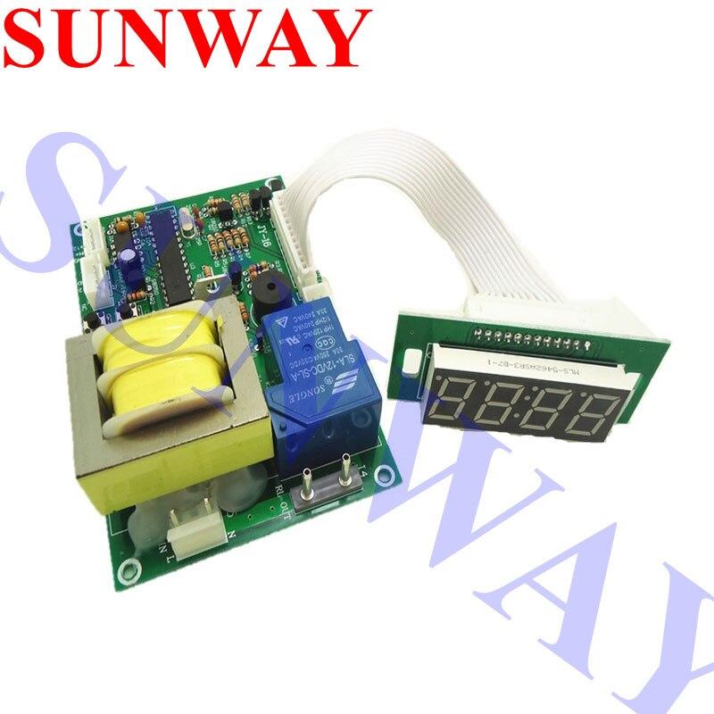 JY-16 110V moneda operado placa temporizador de Control de alimentación con selector monedas para lavadora