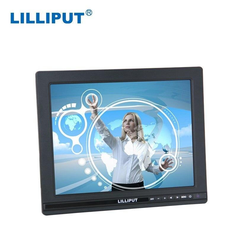 "Lilliput 9,7 ""5-cable resistivo HDMI pantalla táctil Monitor FA1000-NP/C/T cumple con IP62 estándar"