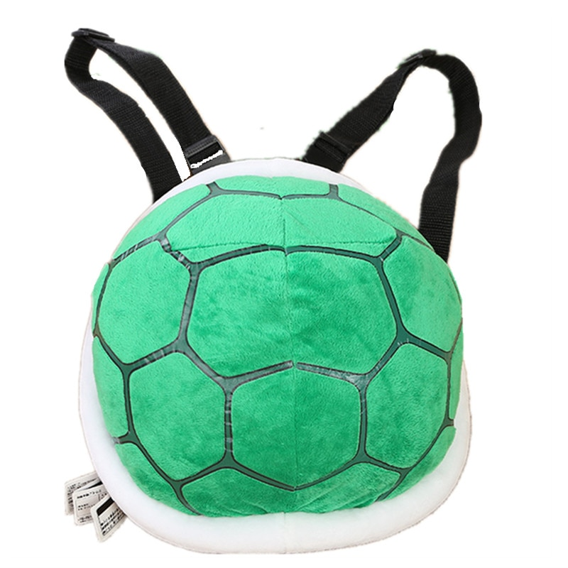 Gorące dzieci Turtle Lovers pluszowy plecak dla dzieci Turtle Shells nadziewane torba na ramię rekwizyty sceniczne Tortoiseshell zabawki Dragon Ball