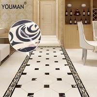 youman 10200cm greek vintage old greek ornament wall sticker waist lines self adhesive wallpaper border for living room border