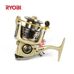 RYOBI TRESOR (CONDOR) Spinning Fishing Reel 1000-4000 6BB 5.1 1/5. 01 Molinete Para Pesca de Água Salgada Carretilhas De Pescar Bobina