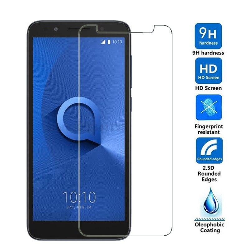 Alcatel – protecteur d'écran 9H 2.5D, 1x verre trempé, Film de couverture pour Alcatel 1X 5059A 5059D 5059I 5059J 5059T 5059X 5.3 pouces
