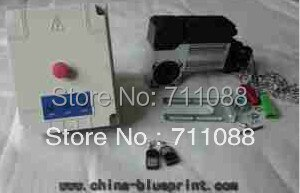 350 W - 600 W de abertura de porta, Operador Industrial porta seccional inclui caixa de controle e controle remoto