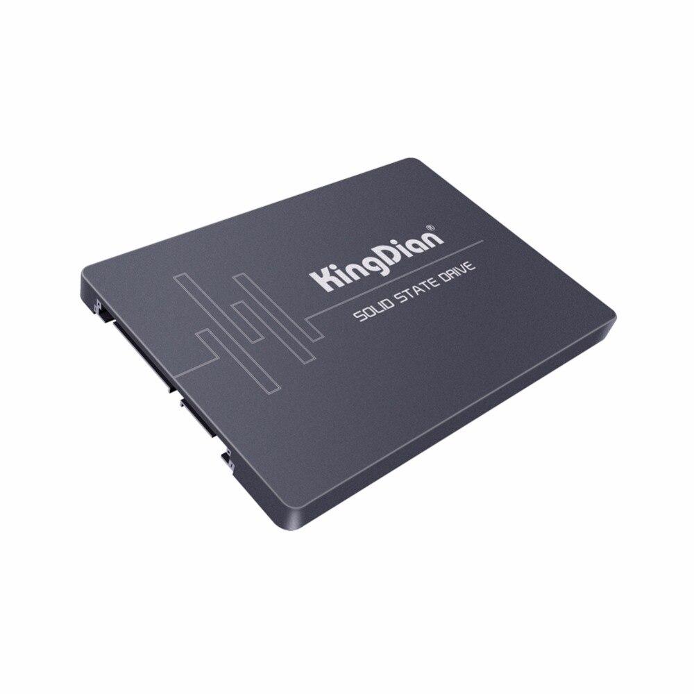 KingDian-محرك أقراص صلبة SSD 2.5 SATA3 ، سعة 64 جيجابايت ، محرك أقراص ثابتة عالي الدقة لأجهزة الكمبيوتر المحمول S200 60 جيجابايت