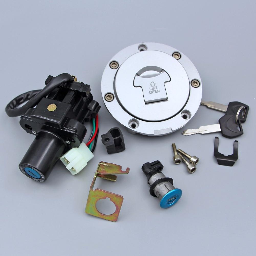 مفتاح إشعال الغاز غطاء تغليف مفتاح مجموعة غلق صالح لسوزوكي CBR600RR 2003-2006 04 05 CBR1000RR 2004-2007 05 06