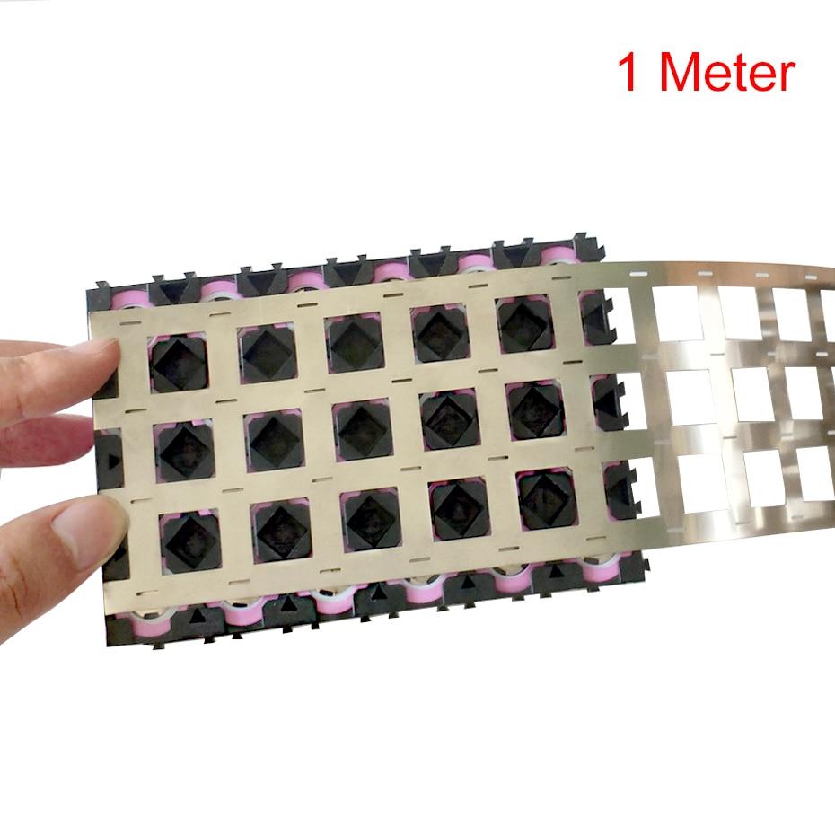 1M 99.96% High Purity Pure Nickel belt 4P Lithium Battery Nickel Strip Li-ion Batteries Ni Plate For 18650 Welding Nickel Strips недорого