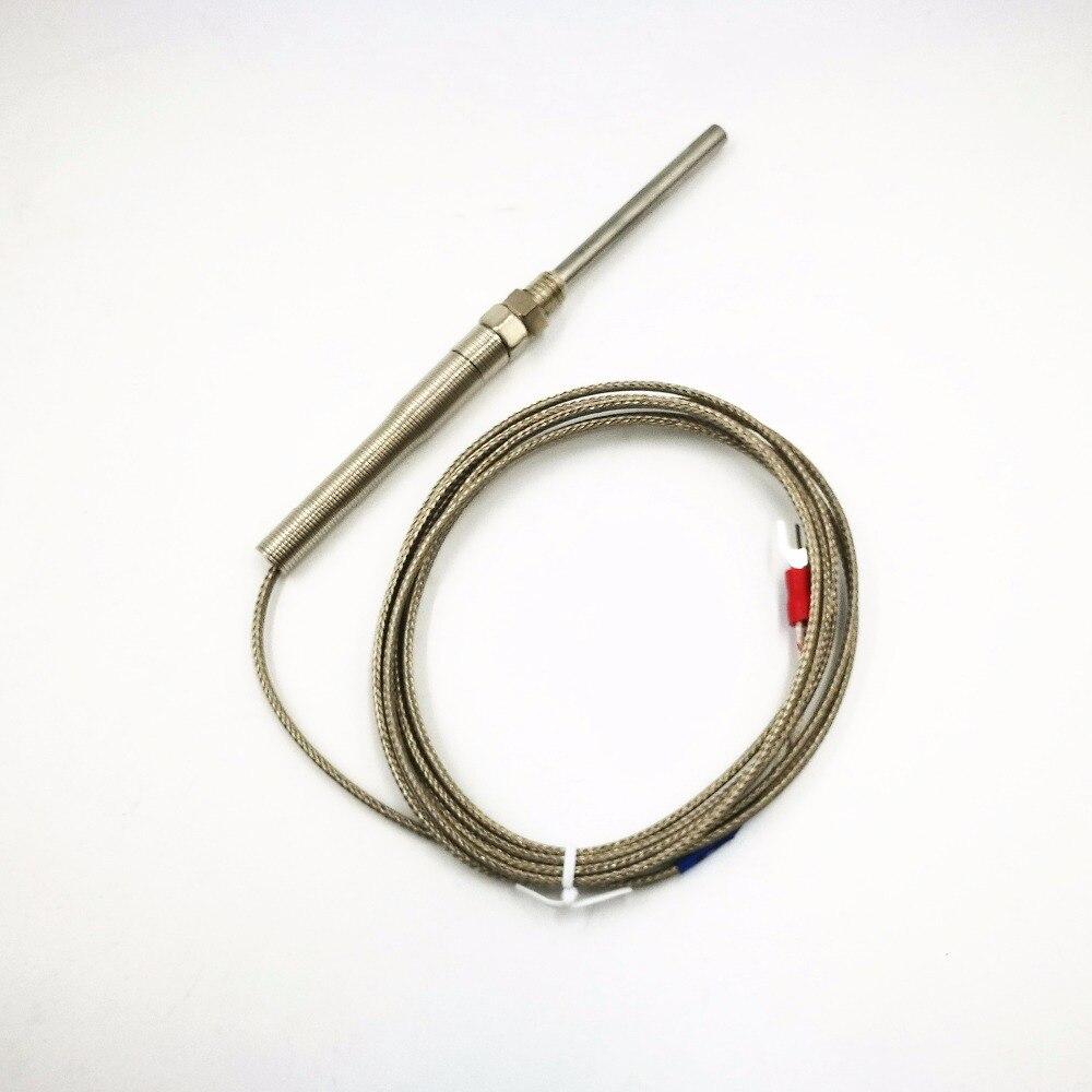 10 шт. Tainless Сталь высокое Температура 0-400 C термопары K Тип 30 мм датчики 2 метра кабель зонд Диаметр 5 мм