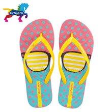 Hotmarzz femmes mode tongs plage pantoufles été maison chaussures femme plat sandales lunettes imprimer femelle maison pantoufles