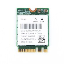 Двухдиапазонный Bigfoot Killer Wireless-AC 1435 Atheros QCNFA344A Killer 1435 802.11ac Wifi Bluetooth 4,1 M. 2 карты лучше BCM94352Z