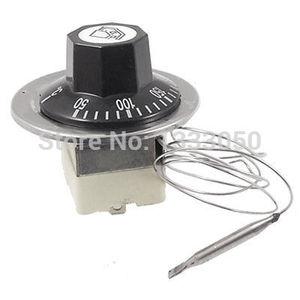 Бесплатная доставка, Электрический термостат 50-300C N.C, температурный капиллярный термостат 220 В 16A Вт 56 мм
