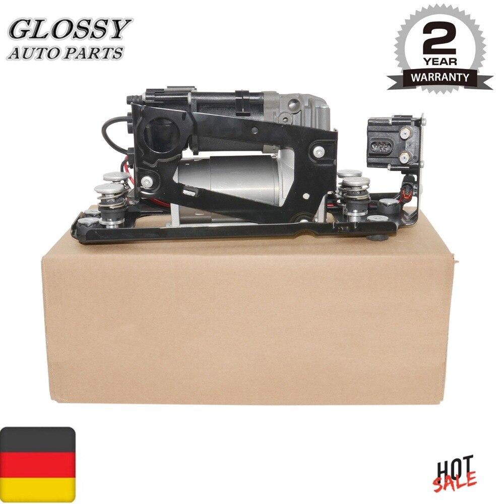AP03 bomba compresora de suspensión neumática con bloque de válvulas para BMW serie 7 F01 F02 F04 F07 GT F11 37206784137, 37206875176