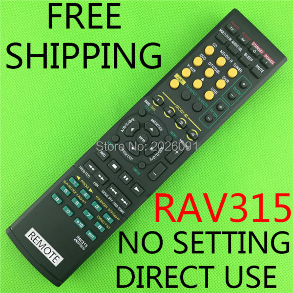 Remote Control For Yamaha RXV561 HTR-6050 RX-V361 WK22730EU Home Audio