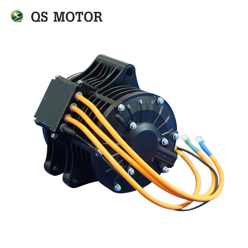 QS high turque 3000W 138 70H V2 mid drive motor for electric motorcycle 100kph enlarge