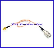 10 stks/partij verlengsnoer N vrouwelijke Jack naar RP SMA Plug mannelijke Pin RF Connector Adapter RG316 30 CM Pigtail Kabel Gratis verzending