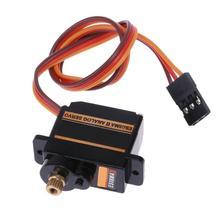 Mini tamaño Metal engranaje Servo analógico ES08MA II profesional Longoing vida Motor teledirigido reemplazo parte eficiente Mini engranaje Servo