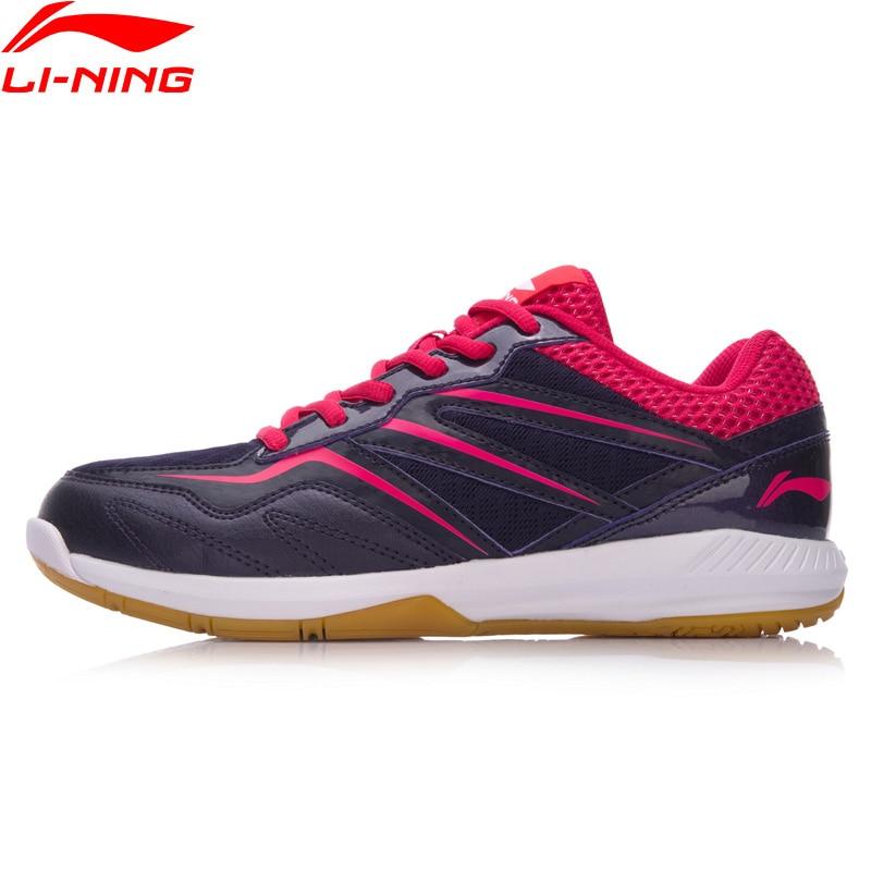 Li-ning mujer POSEIDON bádminton zapatos de entrenamiento Anti-resbaladizo forro ligero calzado deportivo zapatillas de vestir AYTN044 XYY078