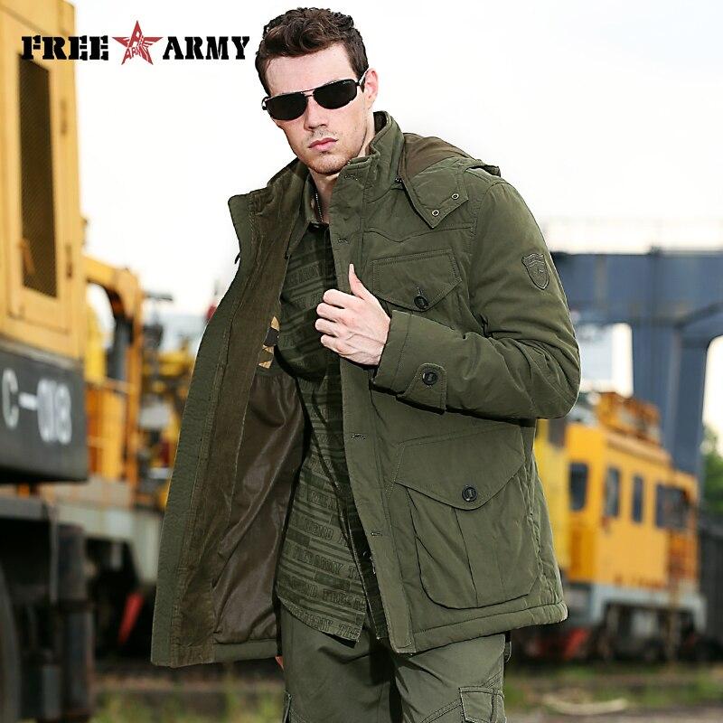 Brand Quality Hooded Jacket Men Winter Thicken Coat Hat Detachable Solid Cotton Jacket Men's Parkas Outwear Plus Size Ms-001