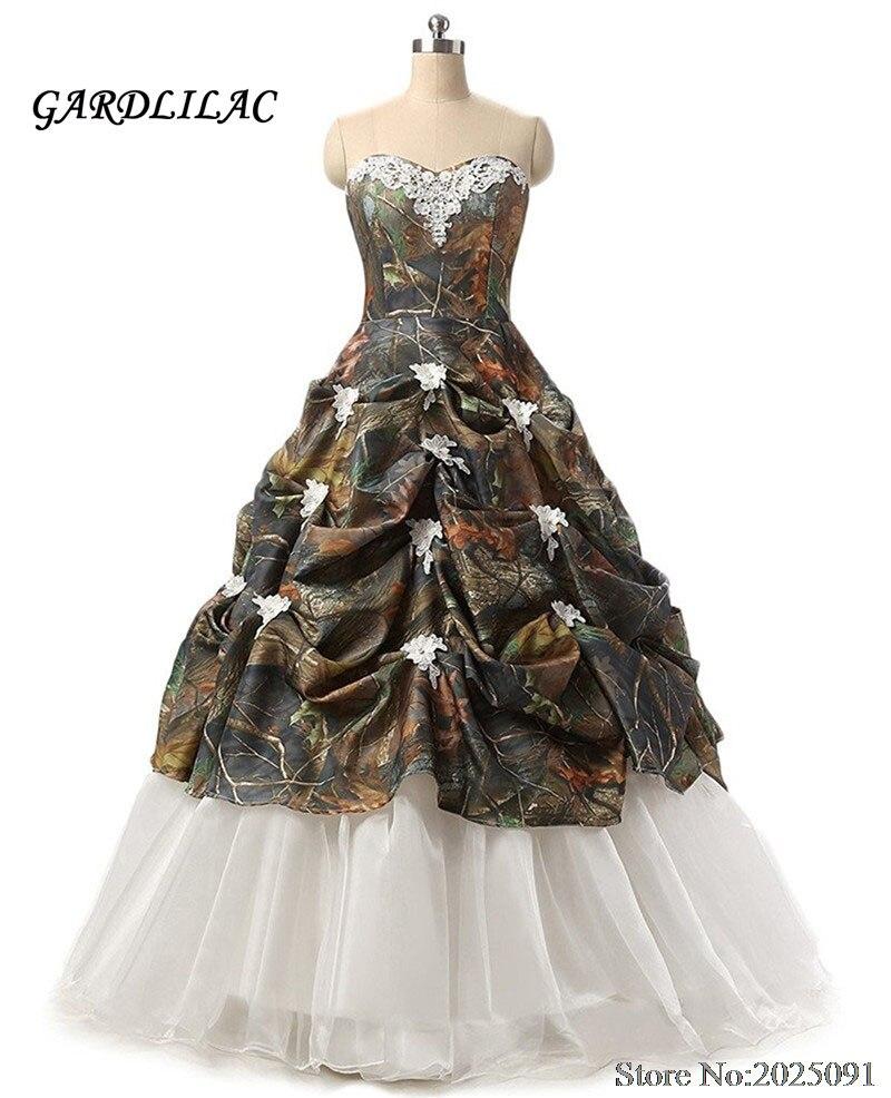 Милое камуфляжное Пышное Платье, плиссированное платье с аппликацией, маскарадное платье 16, бальное платье, длинные платья для выпускного в...