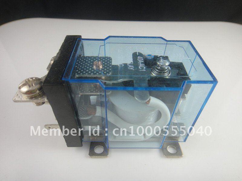 JQX-40F 1Z 40A DC 12V Coil PCB Power Relay
