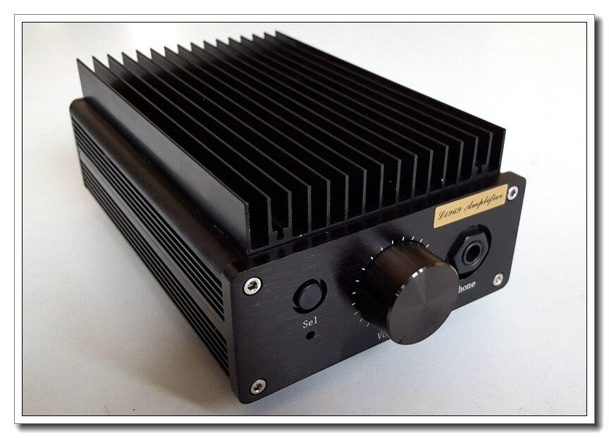 مضخم طاقة مدمج L1969se 8W pure class a, آلة متكاملة