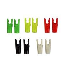 50 Pcs / Lot Plastic L Pin Nock Arrow Shaft Accessories Outdoor Hunting Shooting Archery Bow Parts