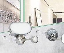 Miroir Hinger salle de bain miroir verre accessoires fixes plaque publicitaire pince en verre pince fixe miroir miroir raccord fixe