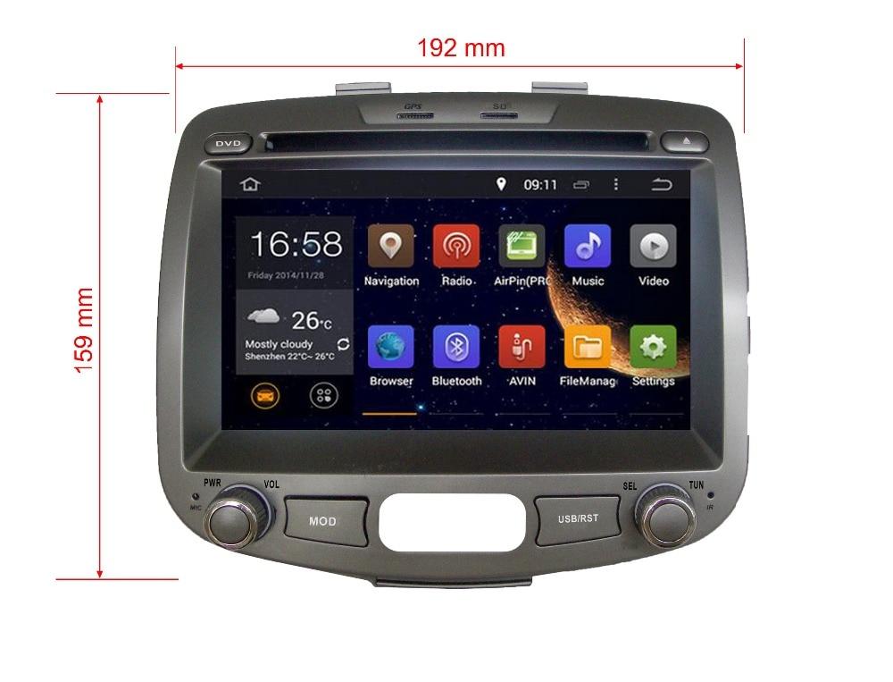 Octa/Quad Core Android para Hyundai i10 ajuste Dodge i10 ajuste Inokom i10 2007 - 2012 coche DVD de navegación GPS Radio 3g wifi obd DAB