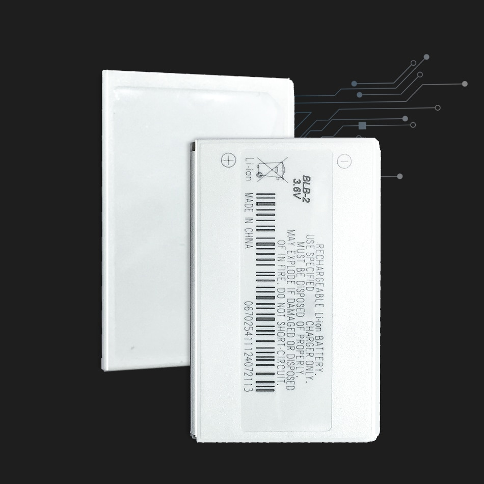 YKaiserin батарея мобильного телефона BLB-2 800 мАч для Nokia 3610 6500 6510 6590 6590i 7650 8210 8250 8270 8290 8310 8390 8850 BLB 2