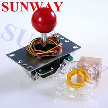 Original Japan Sanwa JLF-TP- 8YT 5Pin Arcade Joystick 8 Way Rocker +GT-Y Octagonal Gate For Arcade DIY Kits Mame Jamma SNK KOF