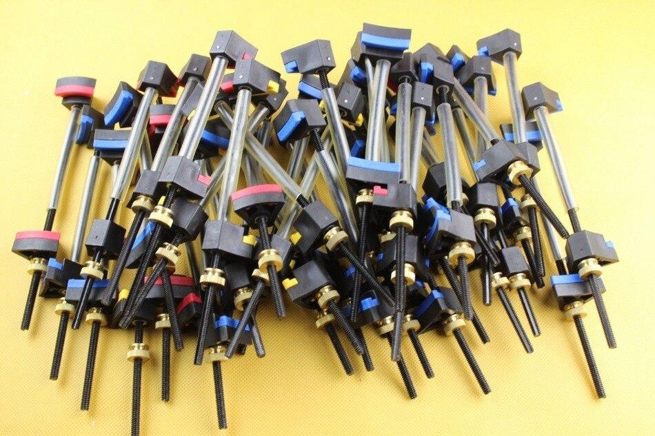 Ferramentas de fabricação de violoncelo, ferramentas de colagem de reparação de grampos de violoncelo 42 pces