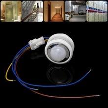 Détecteur de mouvement infrarouge PIR 40mm   Commutateur avec temporisation réglable