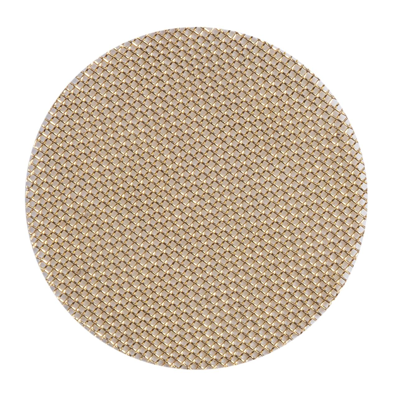 2018 Nova Moda Malha Filtro 20mm 100 x Tubo de Filtros de Tela De Malha De Bronze Gold & Bronze Filtros de Alta Qualidade