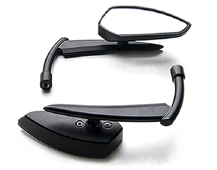 Espejo retrovisor personalizado par negro para Yamaha Raider S 15 1900 XV1900