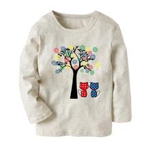 Meisjes T Shirts Voor Kinderen Lente Zomer Shirts Voor Meisjes Lange Mouw Sweatshirt Baby T-shirt Tops Tees Tieners Meisjes Kleding