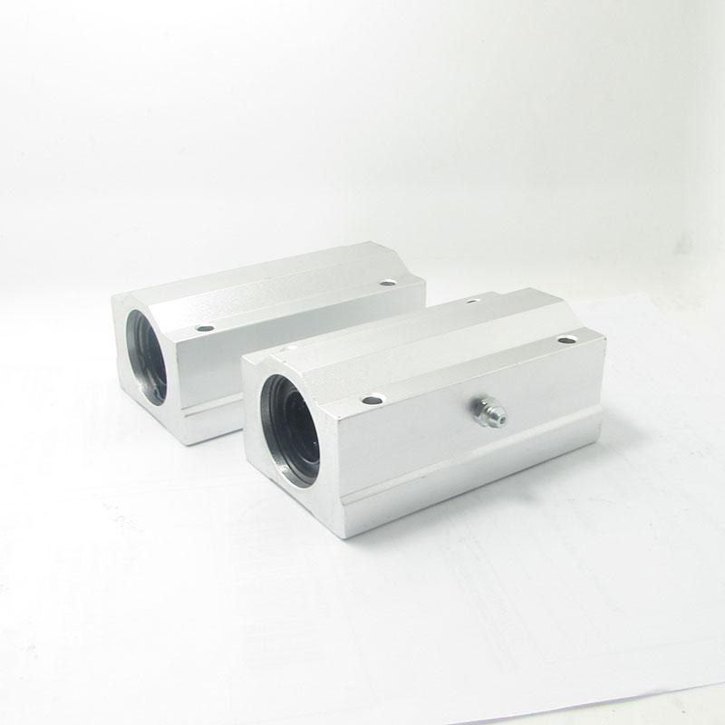 4pcs/lot Free shipping SC16LUU SCS16LUU 16mm long type Linear Ball Bearing Block CNC Router