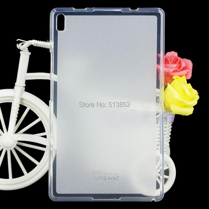 Защитный чехол для Lenovo Tab 4 8 Plus TB-8704F 8704N высокое качество нескользящая Мягкая Силиконовая защита из ТПУ