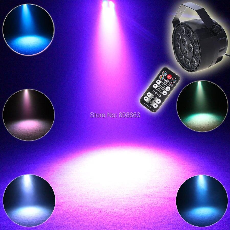 ESHINY Mini RGBW 12 светодиодных цветных дистанционных голосовых ламп DMX 512 8 каналов для сцены, для вечеринки, для диджеев, оборудование Lumiere Dance Beam светильник R2D2